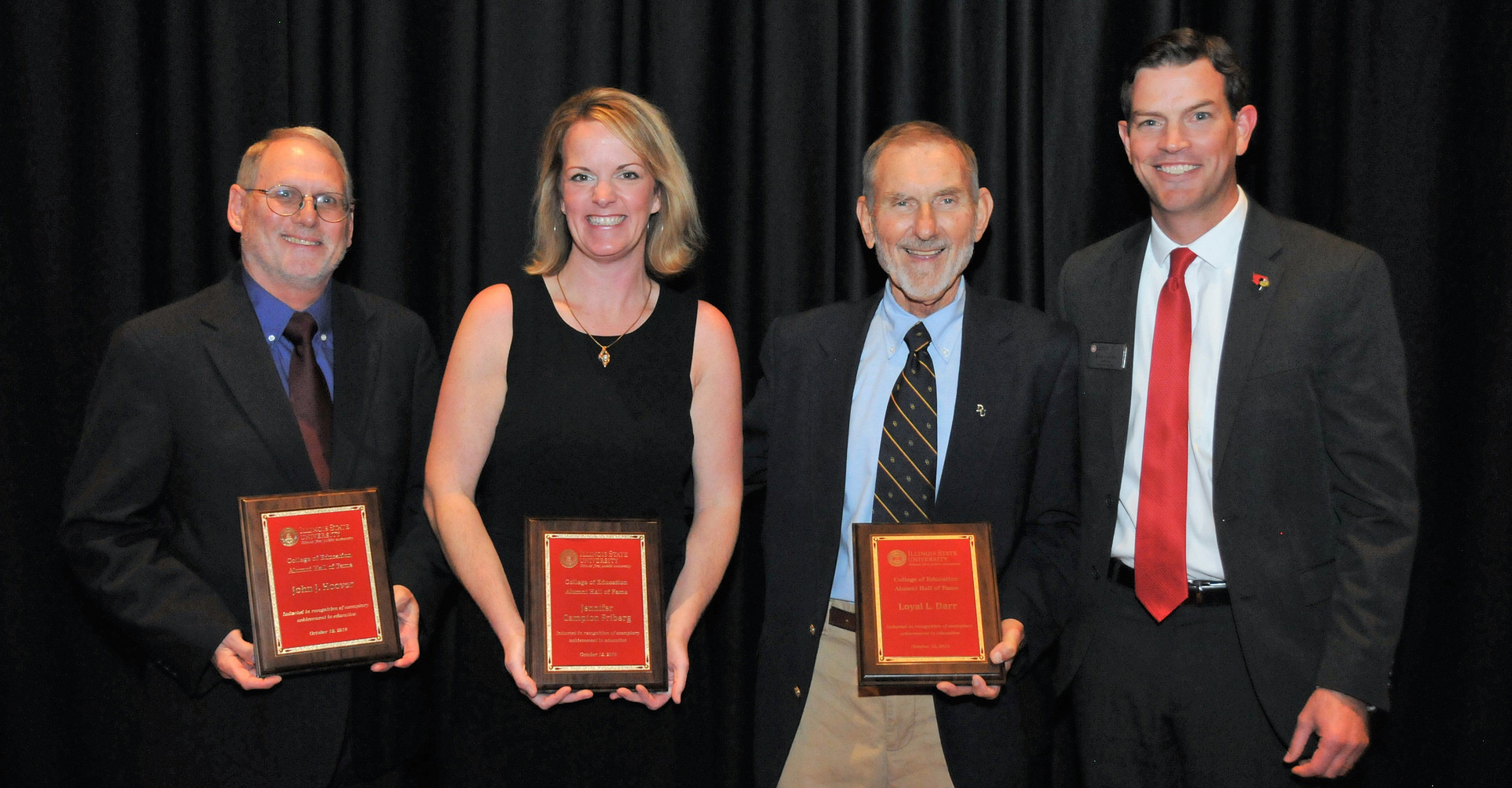 2018 College of Education Hall of Fame inductees