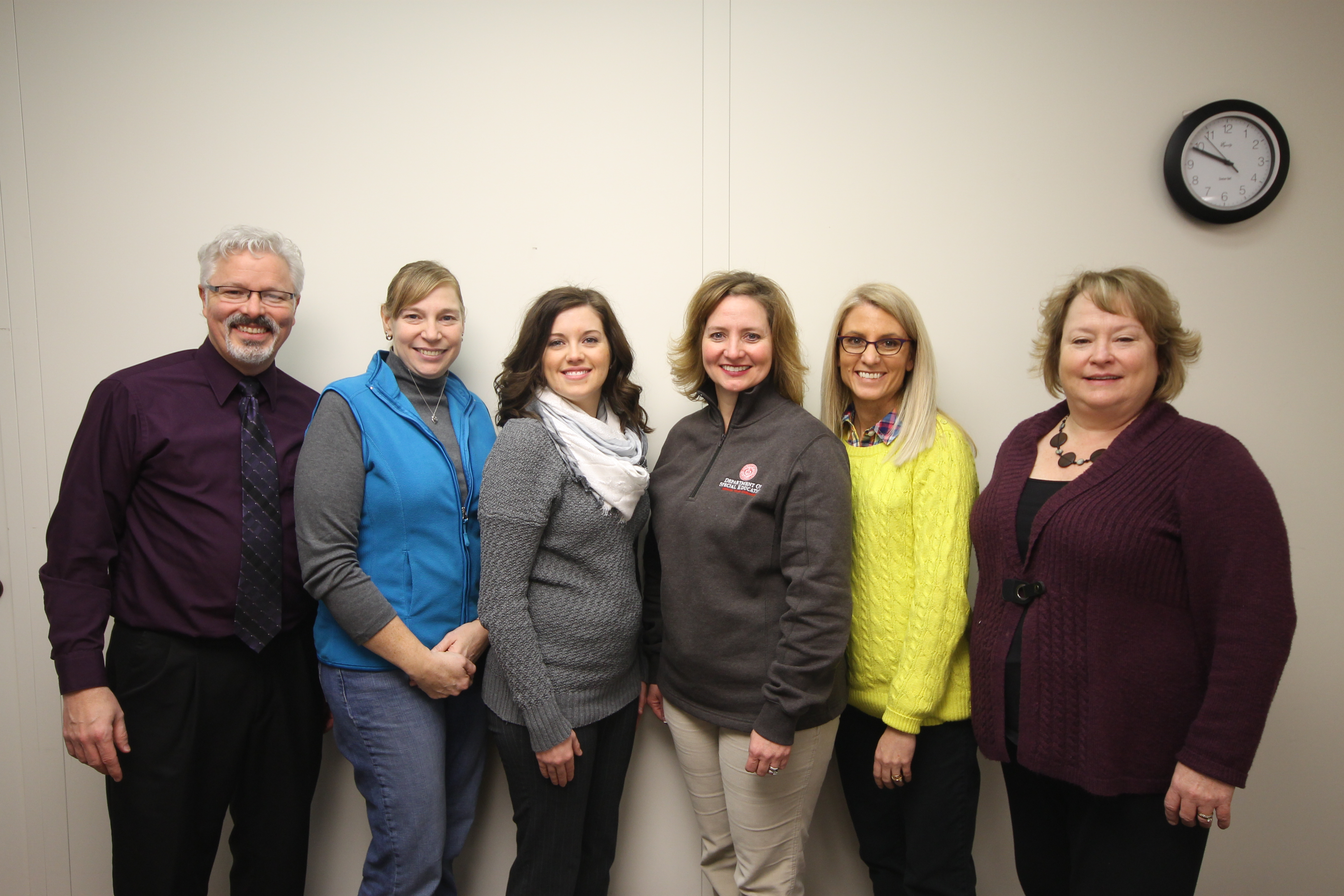 Special Education Sign Language Team